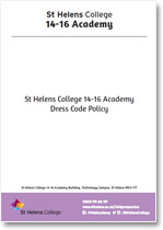 14-16 Academy - Dress Code Policy
