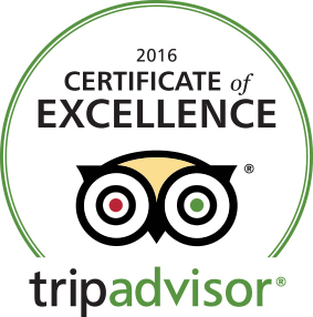 Trip Advisor Certificate Of Excellence Logo 2016