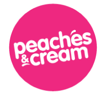 Peaches & Cream Logo