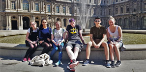 Our students in Paris