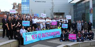 St Helens College celebrates OFSTED judgement of high education standards