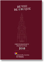 University Centre St Helens Undergraduate Prospectus 2018
